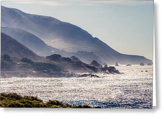 Big Sur Beach Greeting Cards - Big Sur Coast 1 Greeting Card by Mike Penney