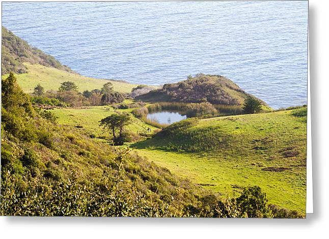 Big Sur Ca Greeting Cards - Big Sur Coast Greeting Card by Bernard  Barcos