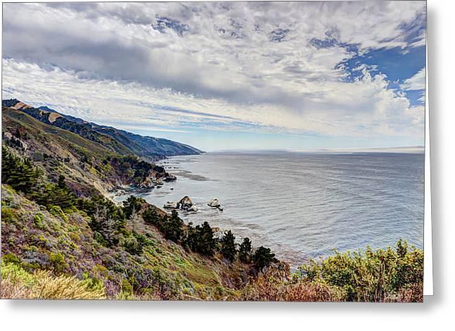 Big Sur Coast Greeting Card by Heidi Smith