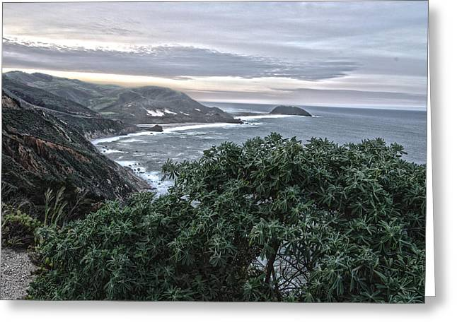Big Sur Greeting Cards - Big Sur Coast Greeting Card by Jack Treese