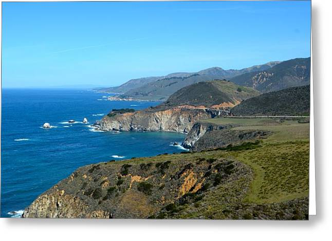 Big Sur Ca Greeting Cards - Big Sur Coast Greeting Card by Rachel Cash