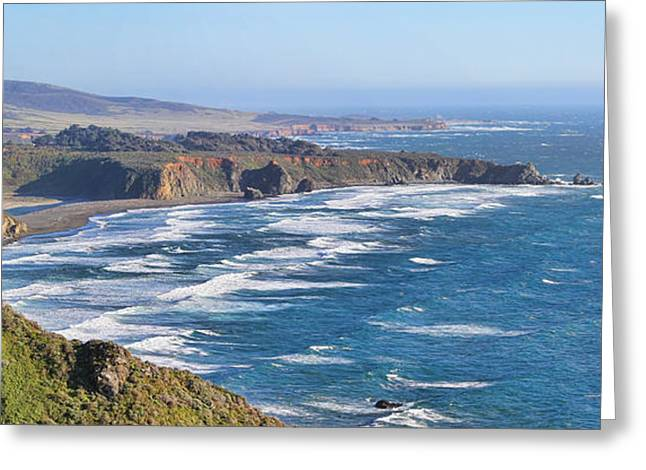 Big Sur California Greeting Cards - Big Sur Coastline Greeting Card by Jack Schultz