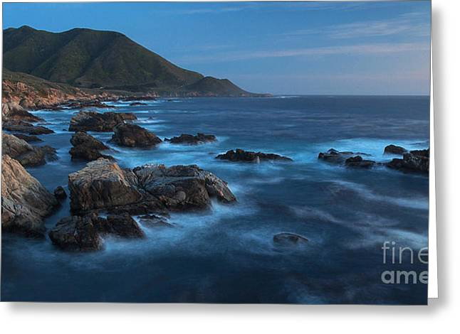 Big Sur Coastline Greeting Card by Mike Reid