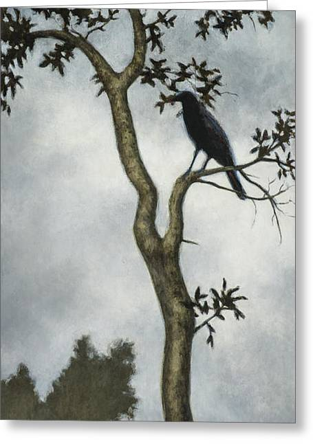 Crows Greeting Cards - Big Sur Greeting Card by David Palmer