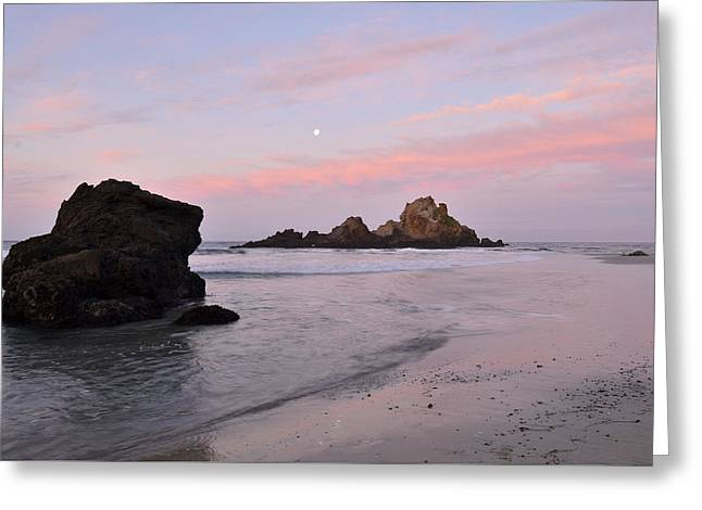 Pfeiffer Beach Greeting Cards - Big Sur Dawn Greeting Card by Stephen  Vecchiotti