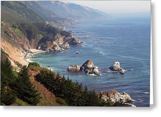 Dayne Greeting Cards - Big Sur Greeting Card by Dayne Reast