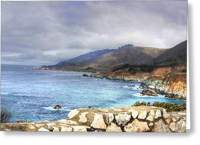 Ocean Art. Beach Decor Greeting Cards - Big Sur Greeting Card by Kandy Hurley