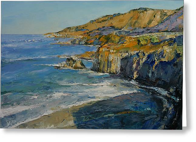 Big Sur Greeting Cards - Big Sur Greeting Card by Michael Creese