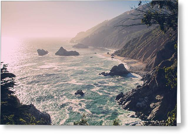 Big Sur Beach Greeting Cards - Big Sur Greeting Card by Michael Muchnij