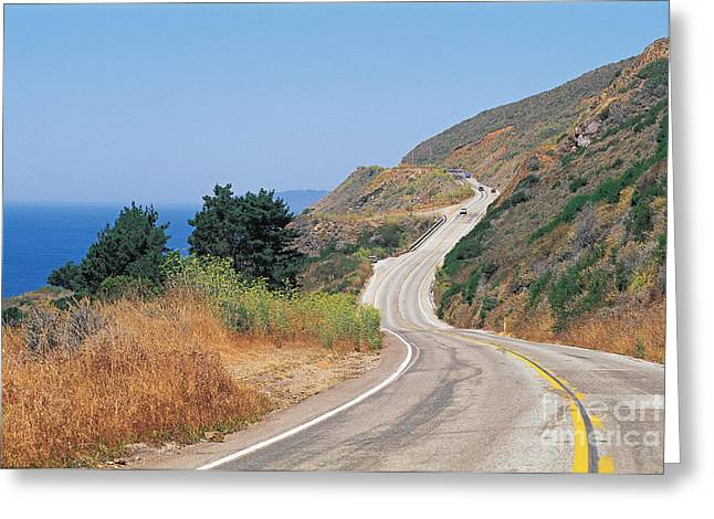 Big Sur Greeting Cards - Big Sur, Pacific Highway Greeting Card by Adam Sylvester