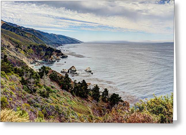 Big Sur Serenity  Greeting Card by Heidi Smith