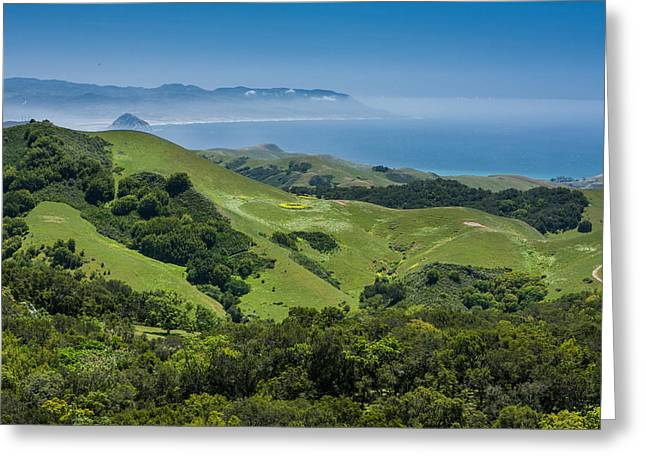 Morro Bay Ca Photographs Greeting Cards - Big Sur Series Greeting Card by Josh Whalen