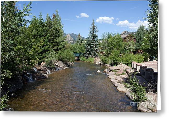 Kaypickens.com Photographs Greeting Cards - Big Thompson Estes Park Greeting Card by Kay Pickens