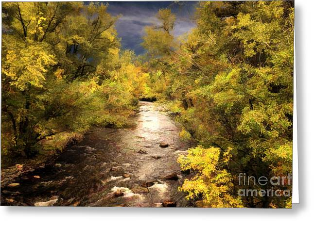 Big Thompson River 3 Greeting Card by Jon Burch Photography