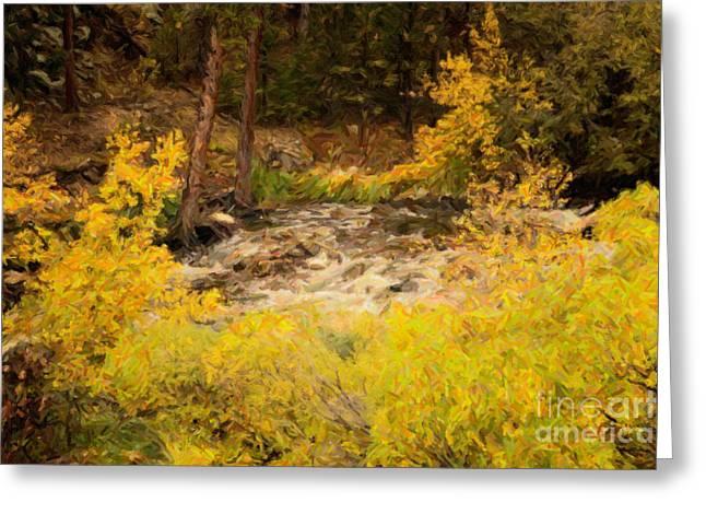 Big Thompson River 6 Greeting Card by Jon Burch Photography
