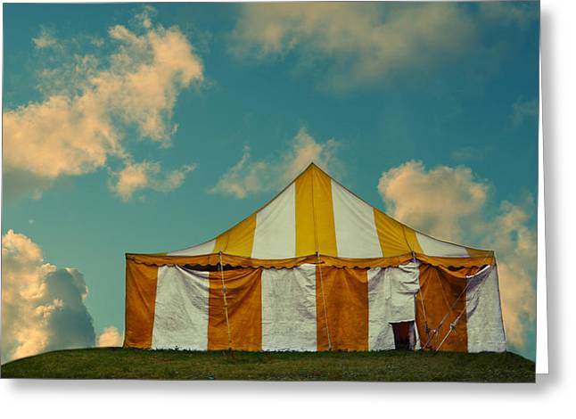 Big Top Greeting Card by Laura Fasulo