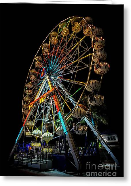 Kiosk Greeting Cards - Big Wheel Greeting Card by Adrian Evans