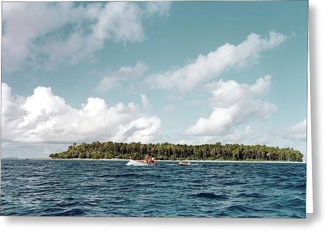 Bikini Atoll Greeting Card by Us Department Of Energy