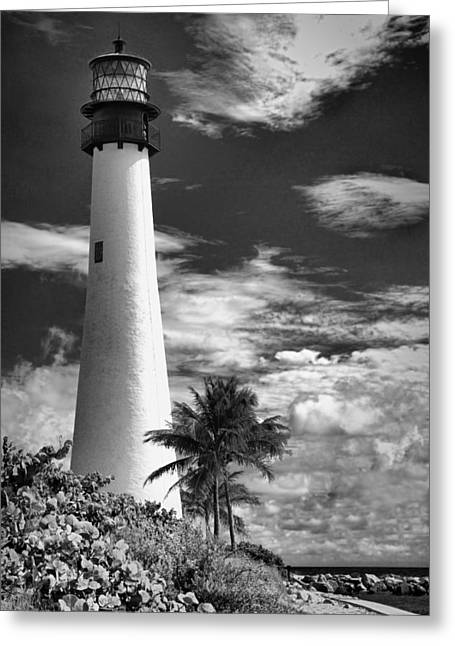 Bill Baggs Greeting Cards - Bill Baggs Lighthouse Greeting Card by Rudy Umans