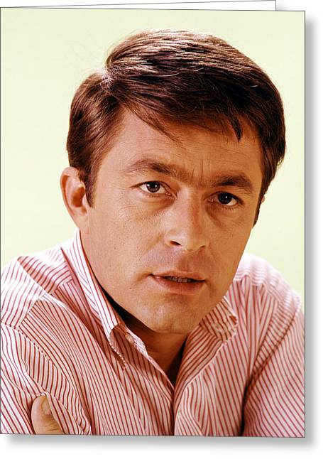 Courtship Greeting Cards - Bill Bixby in The Courtship of Eddies Father Greeting Card by Silver Screen