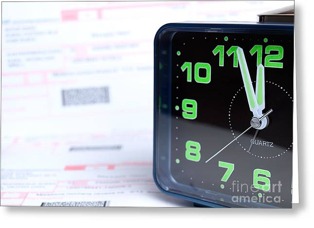 Bankruptcy Greeting Cards - Billing time Greeting Card by Sinisa Botas