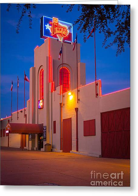 Saloons Greeting Cards - Billy Bobs Texas Greeting Card by Inge Johnsson