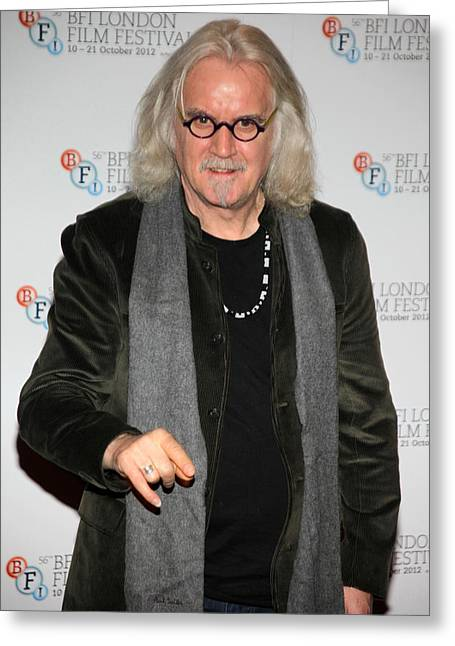 Jez C Self Greeting Cards - BIlly Connolly 1 Greeting Card by Jez C Self