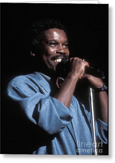 Award Greeting Cards - Billy Ocean Greeting Card by Front Row  Photographs