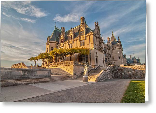 Biltmore Sunset Greeting Card by Donnie Smith
