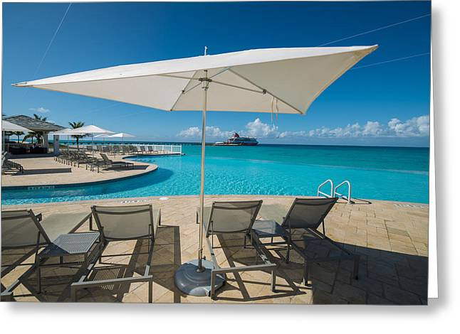 My Ocean Greeting Cards - Bimini break  Greeting Card by Kevin Cable