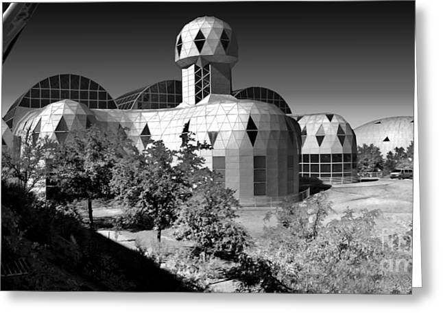 Gregory Dyer Greeting Cards - Biosphere 2 Greeting Card by Gregory Dyer