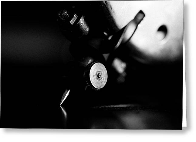 Birch Brothers Portable Phonograph 2 Greeting Card by Jon Woodhams