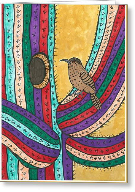 Susie Weber Greeting Cards - Bird House Greeting Card by Susie Weber