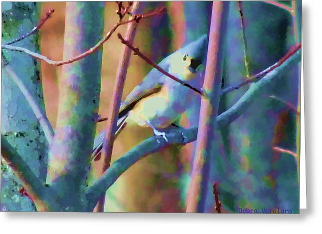 Bird On The Ground Greeting Cards - Bird Of Another Color Greeting Card by Debra     Vatalaro