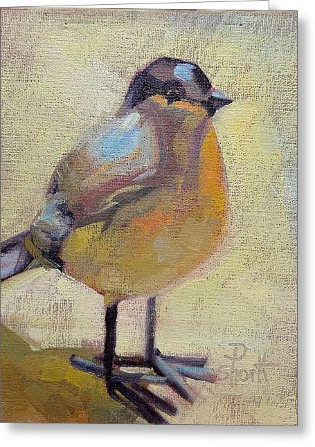 Donna Shortt Greeting Cards - Bird Right Greeting Card by Donna Shortt