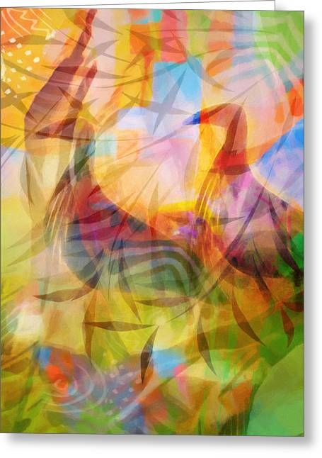 Lightscapes Greeting Cards - Birds in Paradise Greeting Card by Lutz Baar