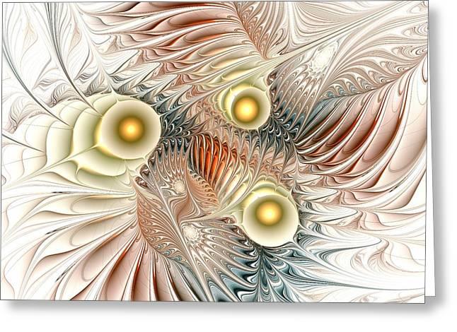Birds Of Paradise Greeting Card by Anastasiya Malakhova