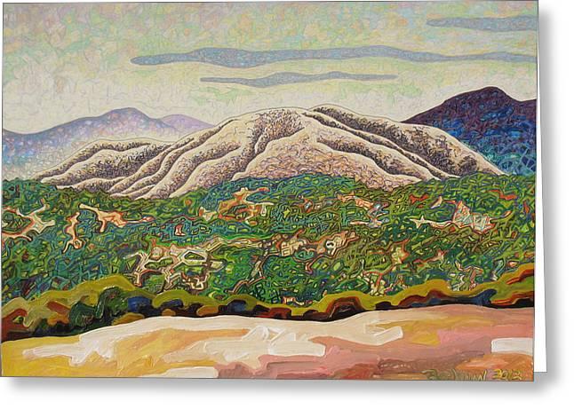 Birdseye landscape #4 Greeting Card by Dale Beckman