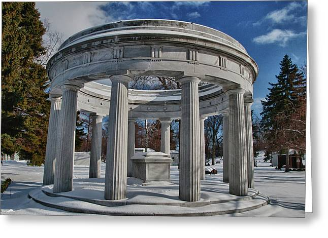 Birge Greeting Cards - Birge Memorial 4103 Greeting Card by Guy Whiteley