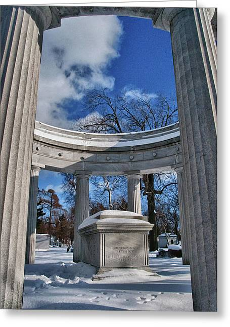 Birge Greeting Cards - Birge Memorial 4105 Greeting Card by Guy Whiteley
