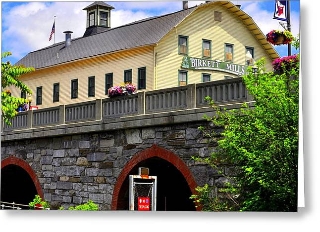 Keuka Greeting Cards - Birkett Mills Greeting Card by Melanie Bellis