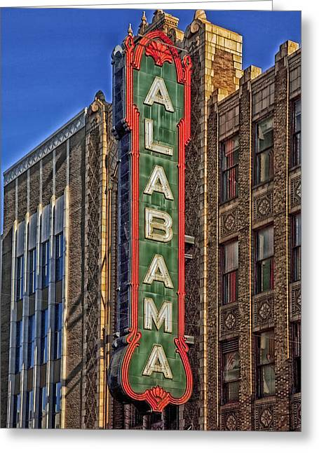 Birmingham's Alabama Theatre Greeting Card by Mountain Dreams