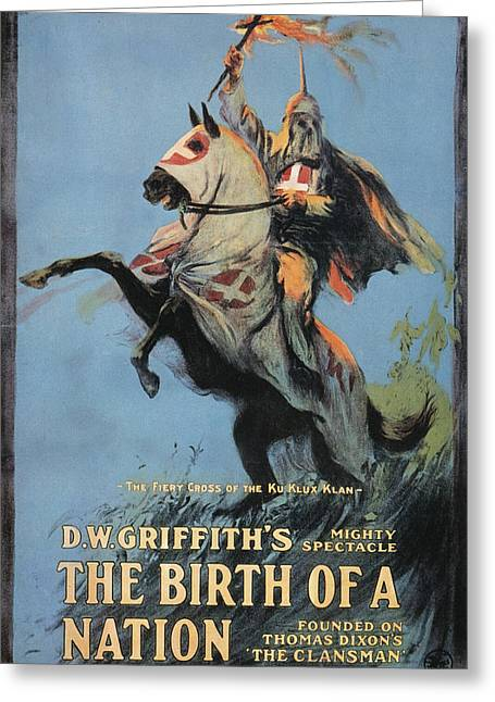 Birth Of Nation, 1915 Greeting Card by Granger