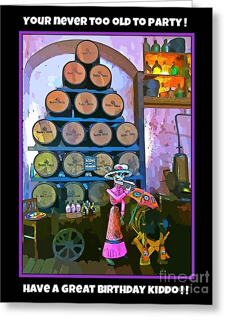 All Occasion Card  Greeting Cards - Birthday Greeting Card Digtal Art Greeting Card by John Malone