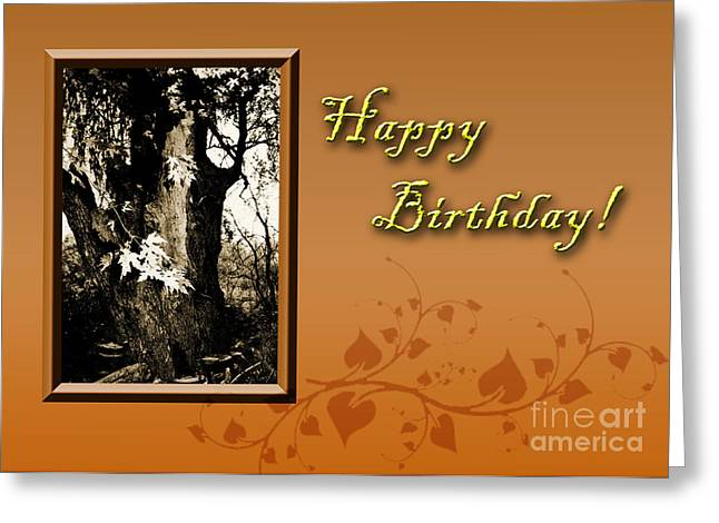 Wildlife Celebration Greeting Cards - Birthday Willow Tree Greeting Card by Jeanette K