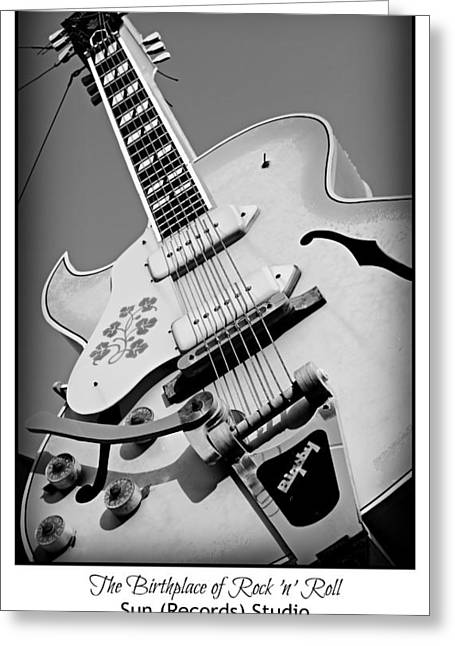 Motel Art Greeting Cards - Birthplace of Rock n Roll Greeting Card by Stephen Stookey
