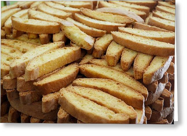 Biscotti Greeting Cards - Biscotti Di Prato Greeting Card by JAMART Photography