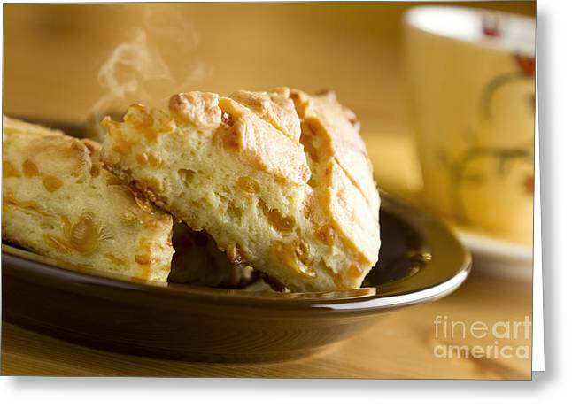 Crisp Greeting Cards - Biscuits Greeting Card by Blink Images