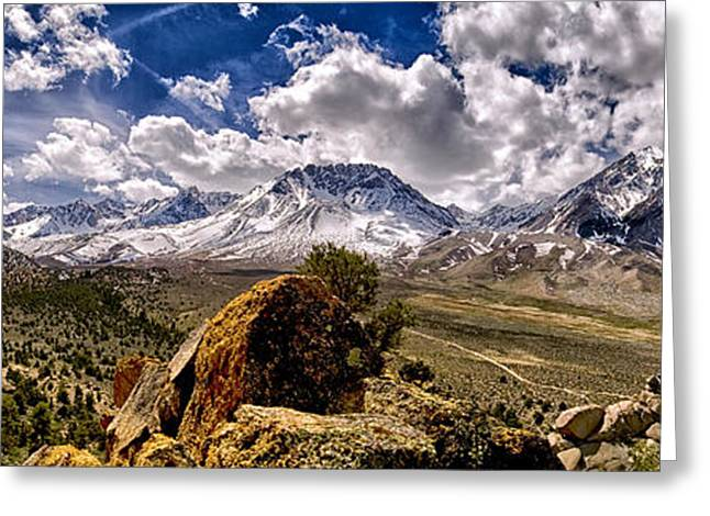 Eastern Sierra Greeting Cards - Bishop California Greeting Card by Cat Connor
