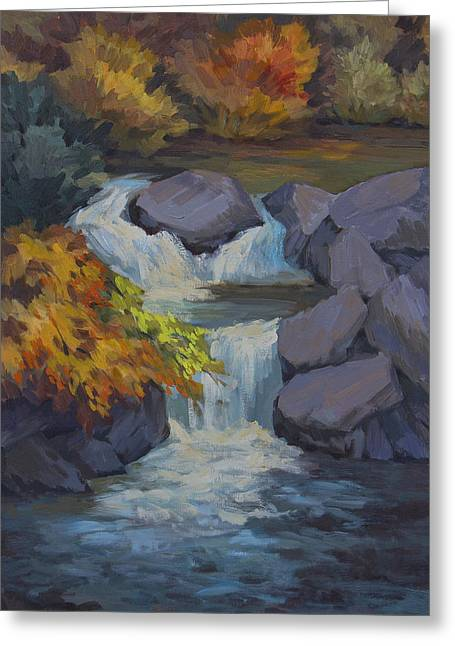 Bishop Greeting Cards - Bishop Creek Greeting Card by Diane McClary